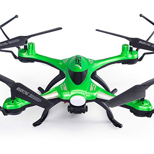 SMZK JJRC H31 Drone quadricottero RC Senza Testa Impermeabile 360  Rolling Action 3D CF One Key Return 2.4G 4CH 6Axis RC Quadcopter RTF con Luce LED per Volo Notturno Verde