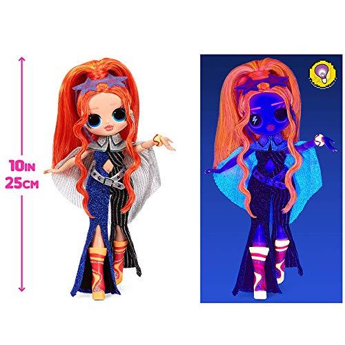 Image 4 - Poupée Mannequin LOL Surprise OMG Dance Dance Dance Major Lady, avec 15 Surprises, vêtements de créateur, Lumière Noire Magique, Accessoires, Chaussures et Pack TV. Pour les filles à partir de 4 ans