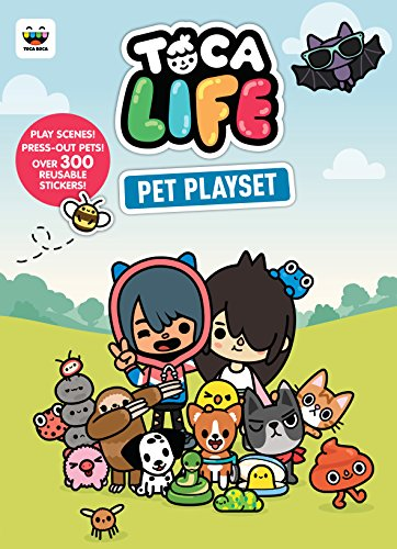 Toca Life Pet Playset: Play Scenes! and Press-out Pets! [Lingua Inglese]