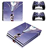 TSWEET Anime Spirited Away Ps4 Pro Stickers Playstation 4 Skin Sticker Decal Cover For Playstation 4 Ps4 Pro Console & Controller Skin