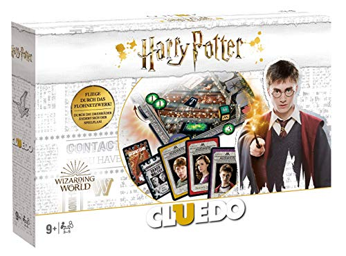 Winning Moves WIN11767 Cluedo - Harry Potter Coll.Edt. (neues Design in Weiß)