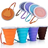 Blizim 4 PCS Silicone Pliable Tasse de Voyage Camping Mugs de Café...
