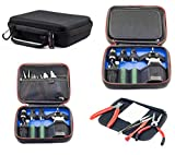 Vape Case for e Cig Vaping Tools Batteries Coils Tanks Box Mods Juice Liquid Bottles Accessories Protective Portable Storage Carry Kit Bag - Small 8 x 7 x 2.5 Inches Case Only