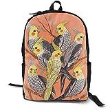 Mochila ligera para el colegio para libros, portátil, mochila para estudiantes, regalo de moda, belleza, patos, caza
