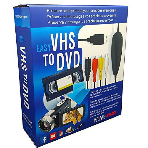 VHS to Digital DVD Converter, USB2.0...