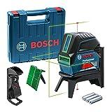 Bosch Professional Laser Combiné en Croix GCL 2-15 G (Laser Vert, pour...
