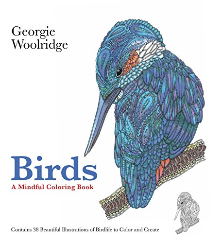 Birds: A Mindful Coloring Book