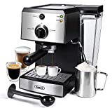 Espresso Machines 15 Bar Fast Heating Coffee Machine with Milk Frother for Espresso, Cappuccino,...