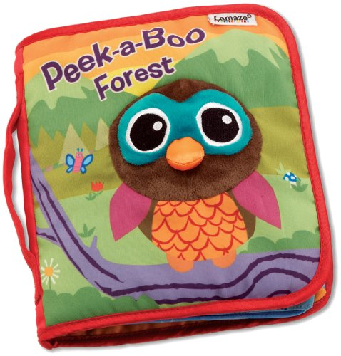 Lamaze Peek-A-Boo Forest, Fun Interactive Baby Book with Inspiring Rhymes and Stories