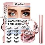 Faux Cils Magnétique, Magnetic Eyeliner, Cils Magnetique, Imperméable et sans colle...