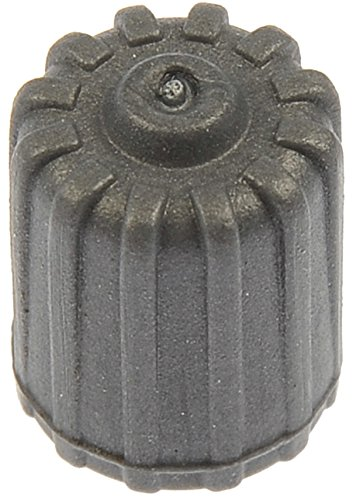 Dorman 609-130 TPMS Grey Plastic Sealing Valve Cap, Pack of 50