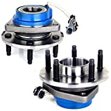 ECCPP Replacement fit for 513121 Wheel Bearing Hub Front Wheel Hub and Bearing Assembly Allure, Aurora, Bonnevile, Century, Impala 5 Lug W/ABS 2PCS