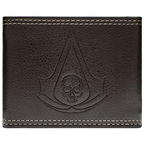 Ubisoft Assassins Creed Black Flag Braun Portemonnaie Geldbörse