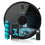 Cecotec Robot aspirador y fregasuelos Conga 6090 Ultra, Láser, Tecnología ciclónica,...