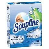 SOUPLINE - Sachets Armoire Parfum Grand Air - Parfume le linge pendant 6...