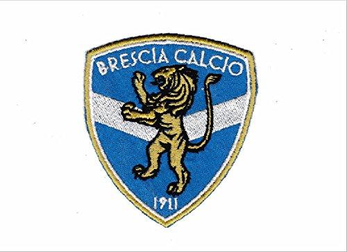 Patch BRESCIA CALCIO stemma logo cm 7,5x8,5 toppa ricamata ricamo REPLICA -740