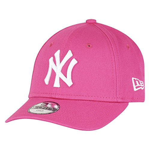 New Era York Yankees Kids 9forty Adjustable MLB League Pink/White - Child