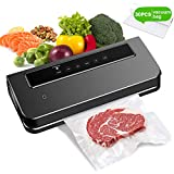 Machine sous Vide Alimentaire pour sceller Marinade Fruits Inclus 30 pcs...