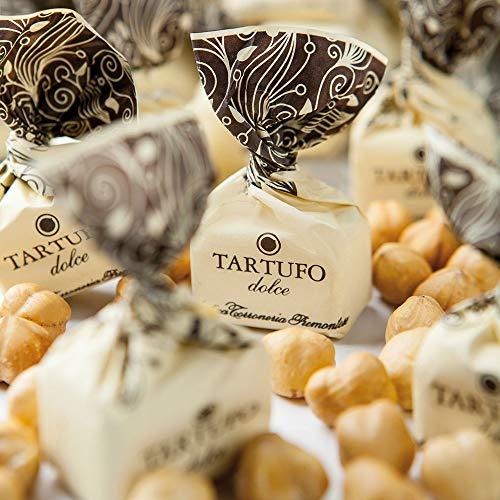 Tartufi Dolci Tradizionali Kg 1 Antica Torroneria Piemontese - Senza Glutine - Nocciole IGP Piemonte selezionate, tostate, spezzettate e unite al cioccolato più buono