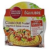 Gayelord Hauser Couscous Poulet Légumes et Épices douces - Plat cuisiné diététique - 1 personne - 300 g