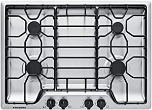 "Frigidaire 30"" Stainless Steel 4 Burner Gas Cooktop FFGC3012TS"