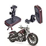 Cheeroyal - Support de téléphone étanche pour moto et vélo - Support universel pour Samsung...