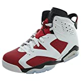 (ジョーダン) Jordan マイケルジョーダン カーマイン MVP オリジナルカラー シューズ Air Jordan 6 Retro Carmine バスケットボール ストリート [並行輸入品] 28