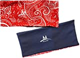 MISSION Enduracool Reversible Cooling Headband (3.75' Red Paisley)