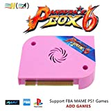 TAPDRA 3A Original Arcade Jamma Board Pandora's Box 6 with 1300 Multi Game Arcade Machine Accessory DIY Kit, Support Add Games and FBA MAME PS1, Support LCD and VGA