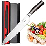 imarku Chef Knife 10 inch, High-Carbon German Stainless Steel Pro Kitchen Knife with Ergonomic Handle and Gift Box, Chef's Knives for Professional Use and Fathers Day Gifts