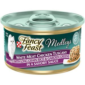 Purina Fancy Feast Medleys Adult Canned Wet Cat Food – (24) 3 oz. Cans