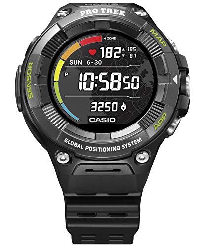 [カシオ] 腕時計 スマートアウトドアウォッチ プロトレックスマート 心拍計測機能 GPS搭載 WSD-F21HR-BK メ...