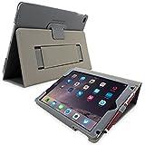 Snugg iPad Mini 1 and Mini 2 Case, Riverside Blue Leather Smart Case Cover Apple iPad Mini 1 and Mini 2 Protective Flip Stand Cover with Auto Wake/Sleep