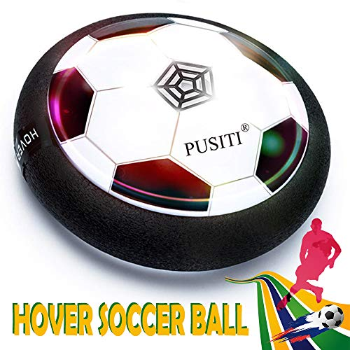 PUSITI Kids Hover Ball Toys 7 Inch Soccer Ball with LED...