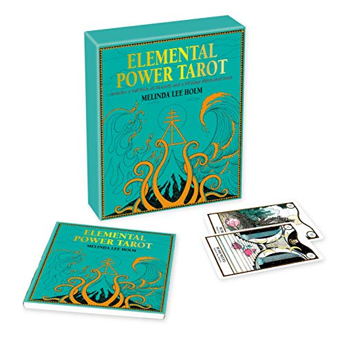 Elemental Power Tarot: Includes a full deck of 78 cards and...
