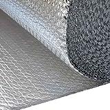 Isolation thermique en aluminium pour porte de garage 1 m x 10 m