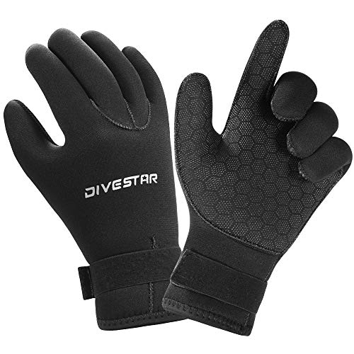 Wetsuit Gloves Neoprene Scuba Diving Gloves Surfing Gloves 3MM 5MM for Men Women Kids, Thermal Anti...