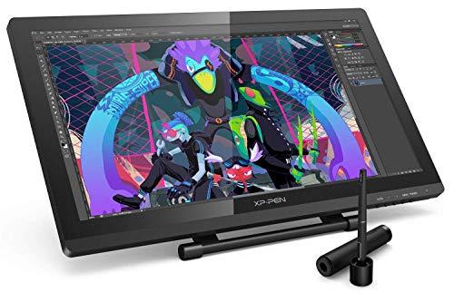 XP-PEN Artist 22PRO Tablette Graphique avec Ecran HD IPS 22 Pouces 2 Stylets Rechargeables à 8192 Niveaux - Tablette à Ecran Professionnelle pour Dessin/Graphisme/Animation