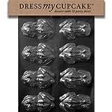Dress My Cupcake DMCA126 - Molde para chocolate, rana, jardín, césped, mantenimiento