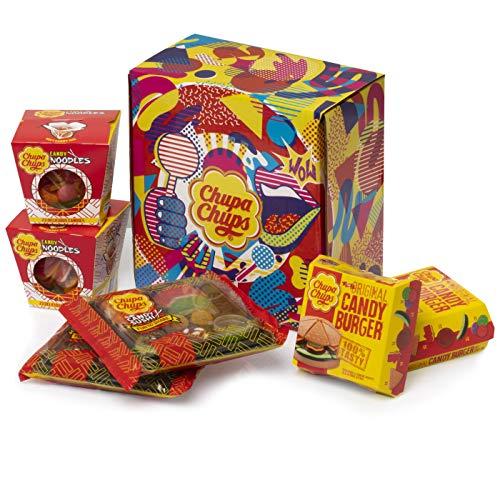 Caja Regalo Chupa Chups Candy Meals, Golosinas con formas de