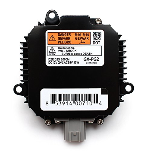 Replacement for Infiniti and Nissan Xenon HID Ballast Headlight Control Unit Replaces NZMNS111LANA, NZMNS111LBNA, 28474-89904, 28474-89907, 28474-8991A