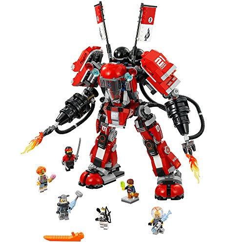 LEGO NINJAGO Movie Fire Mech 70615 Building Kit (944 Pieces)