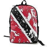 Mochila de poliéster para mujeres/niñas/niñas/viaje/casual Daypack Trinidad y Tobago Bandera
