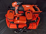Hilti Set of 2, Heavy Duty Cordless 18V Reciprocating Saw (WSR 18-A) & 22V Impact Driver (SID 18-A)