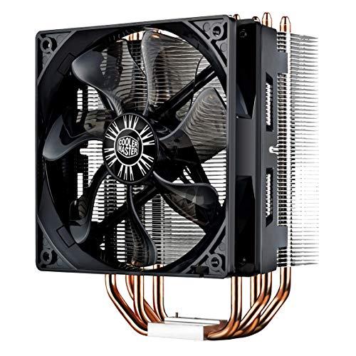 Cooler Master Hyper 212 Evo - Ventilador de CPU, Negro