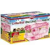 Kaytee CritterTrail One Level Habitat Pink Edition ,20' x 11.5' x 11'