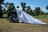 EVP Extreme Vehicle Protection Outdoor Golf Cart Cover - Fully Waterproof/Windproof/Dustproof/Scratch Resistant Carport for Standard Golf carts and Utility Vehicles - Golf Cart/Utility (11' x 14')