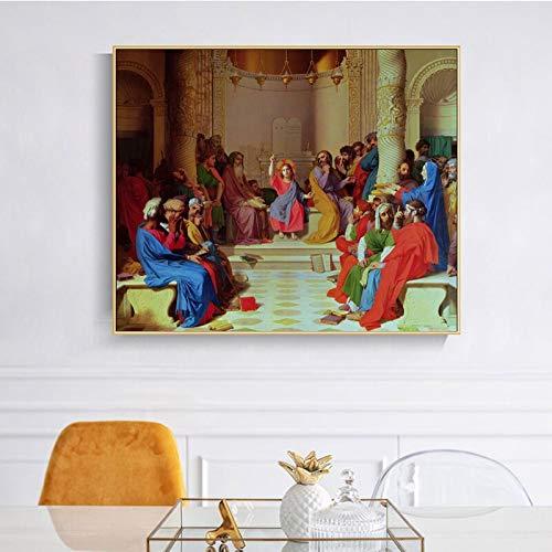 KWzEQ Ges Il Poster del Dottore, la Famosa Decorazione Fotografica del Soggiorno sulla TelaPittura...