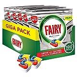 Fairy Platinum+ Pastilles Lave-Vaisselle Tout-en-1 Original Défie les taches les plus coriaces, 100 Doses (5 x 20)