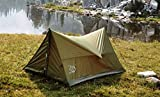 River Country Products Trekker Tent 2, Trekking Pole Tent, Ultralight Backpacking Tent - Green